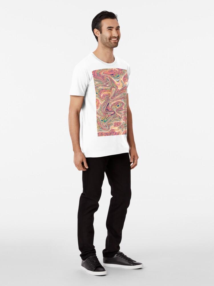 Alternative Ansicht von LaCroix Pamplemousse Marmor Premium T-Shirt