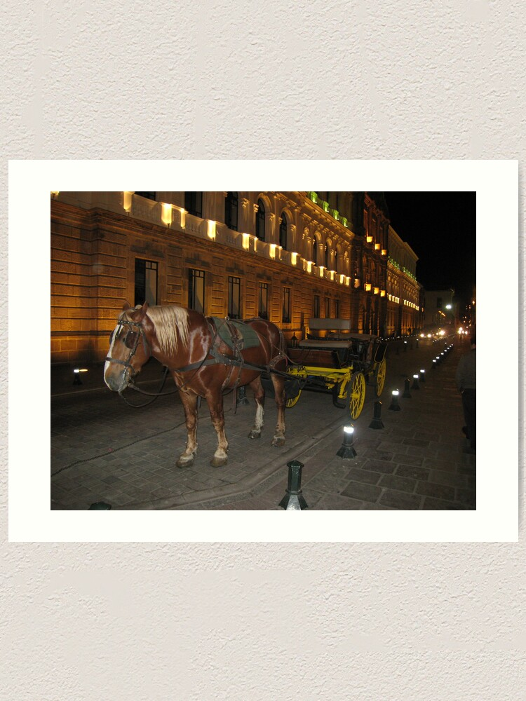 Alternate view of Horse and Buggy Art Print