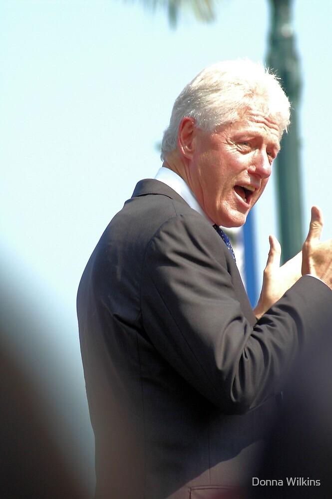William Jefferson Clinton by Donna Wilkins