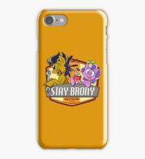 Stay Brony My Friends Garage iPhone Case/Skin