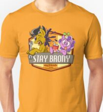 Stay Brony My Friends Garage T-Shirt