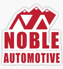 Noble Automotive (Red) Sticker