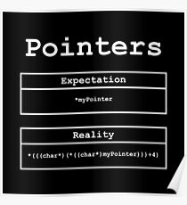Pointers: Expectation vs Reality Poster