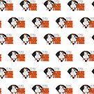It's Game Time - Baseball (Orange) (Pattern) by Adam Santana