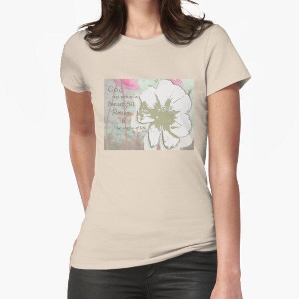 """God's Garden"" Fitted T-Shirt"