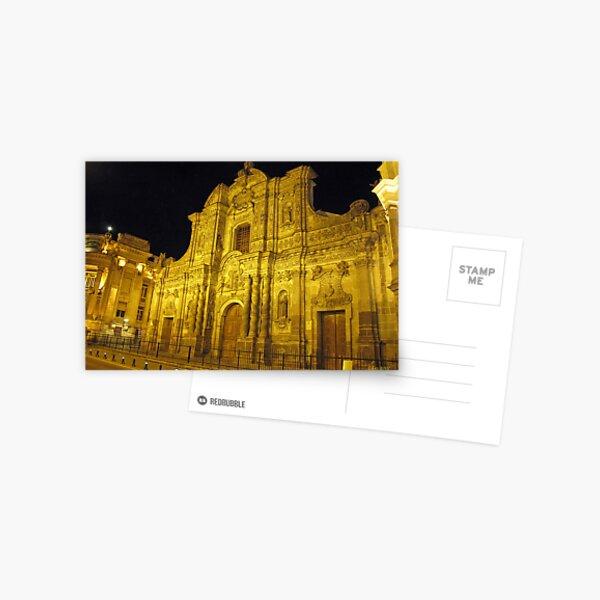 Iglesia La Compañia de Jesús Postcard