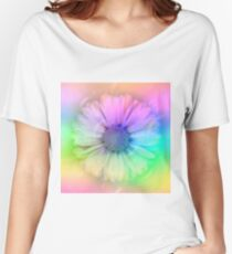 Bubble Double Daisy ll Women's Relaxed Fit T-Shirt
