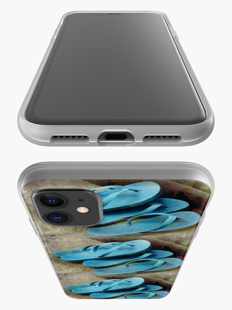 Alternate view of It's Flip Floppin Time iPhone Case & Cover