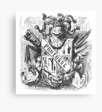 Coat of Arms (Balzac, Honoré de) (Doré, Gustave) Canvas Print