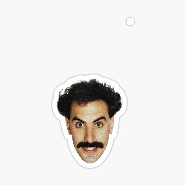 Borat - Head Sticker