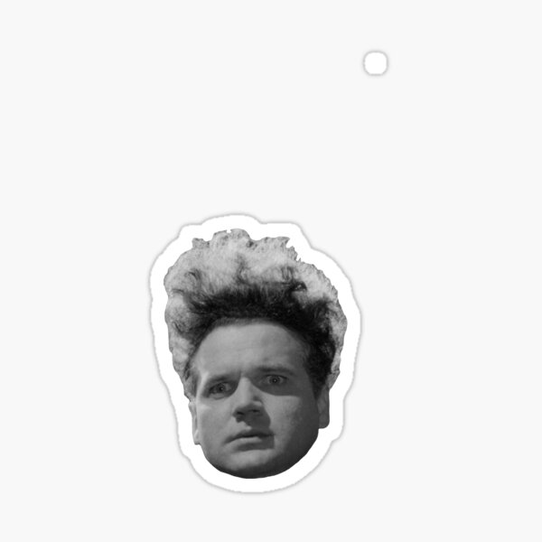 Henry Spencer - Tête (Eraserhead) Sticker