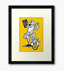 THE PIRATE GOLD -  cartoon vector design Framed Print