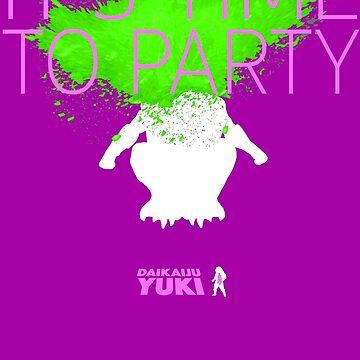 Daikaiju Yuki - IT'S TIME TO PARTY by raffleupagus