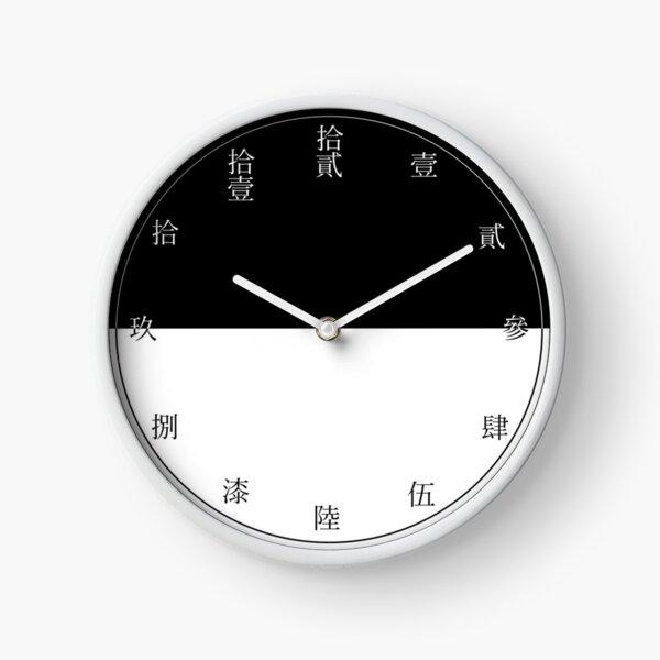 Horloge domestique de série de Monogatari Araragi Horloge