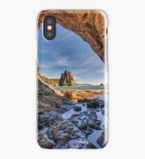 Rialto Beach Sea Arch iPhone Case
