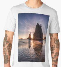 Sea Stacks of Rialto Beach Men's Premium T-Shirt