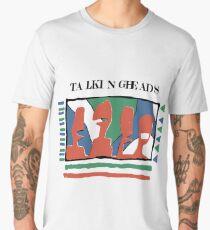 Talking Heads - Yellow 80's Men's Premium T-Shirt