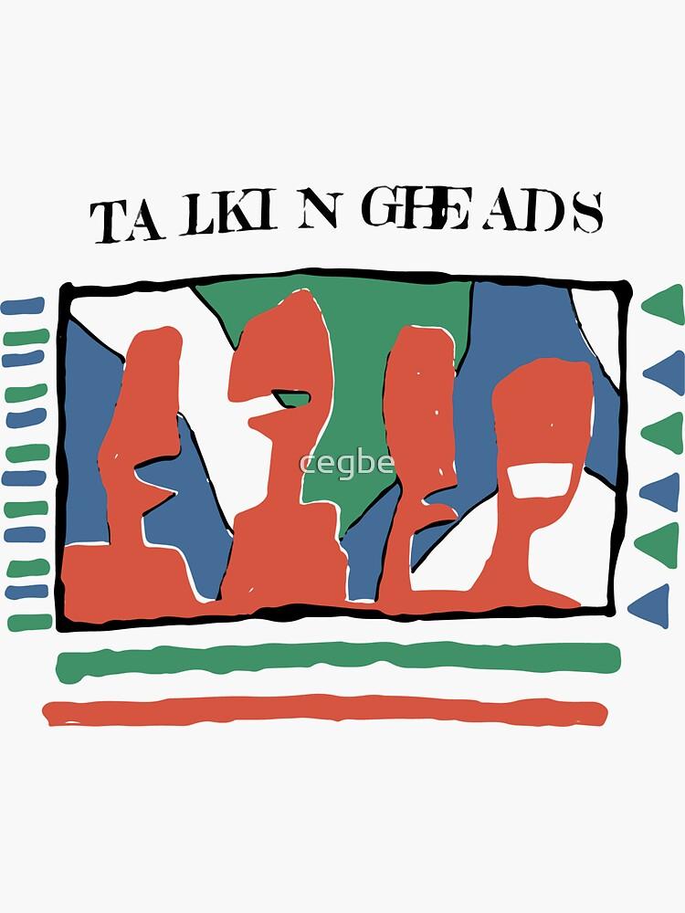 Talking Heads - Gelb 80 & nbsp; s von cegbe