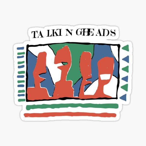 Talking Heads - Yellow 80's Sticker
