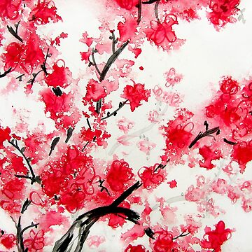 Cherry Blossoms by KathieNichols
