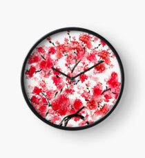 Cherry Blossoms Clock