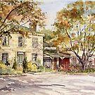 Ross Bakery Inn, Ross by Muriel Sluce by Wendy Dyer