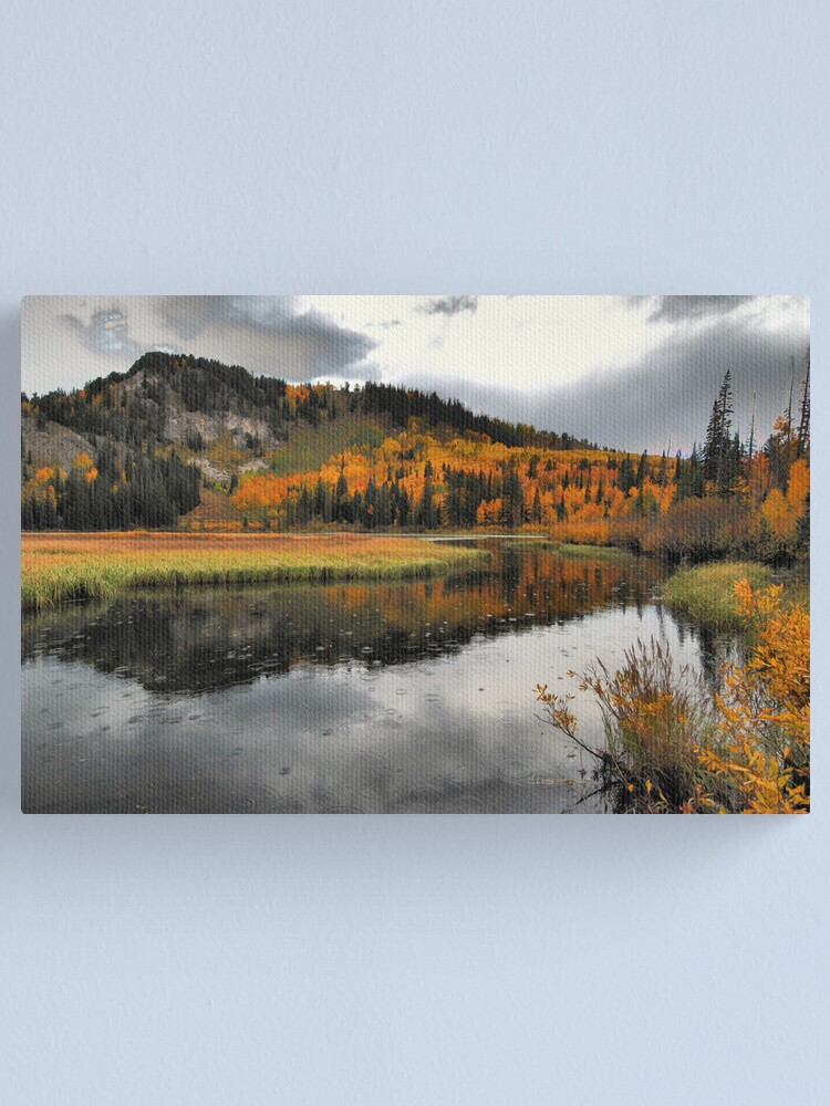 Alternate view of October Rain Canvas Print