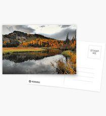 October Rain Postcards