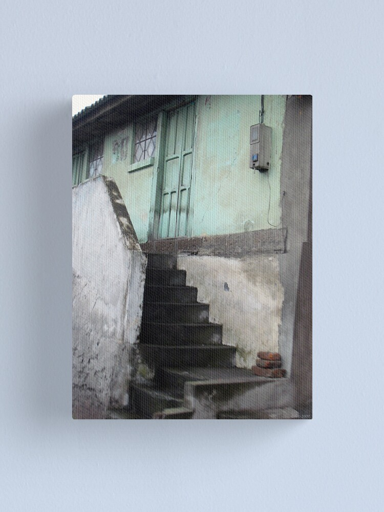 Alternate view of Steps to Where? Canvas Print