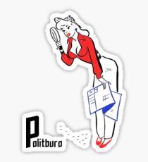 Detective Pinup  Sticker