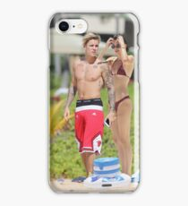 Justin And Kendall Pegatina  iPhone Case/Skin