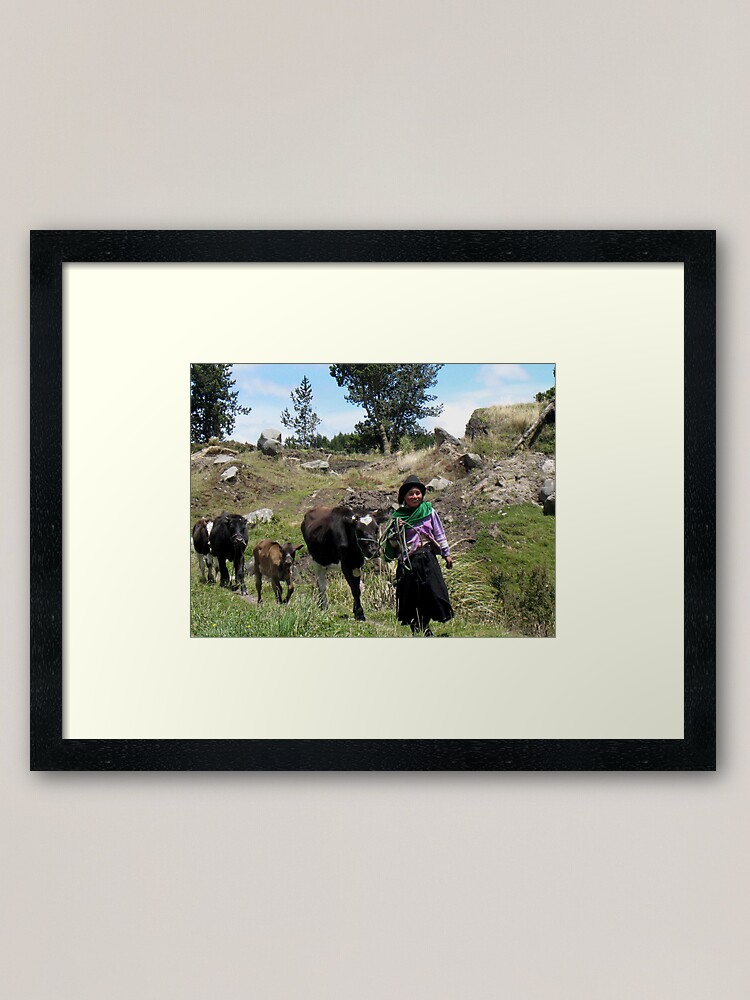 Alternate view of 'Til the Cows Come Home Framed Art Print
