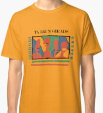 Talking Heads - Yellow 80's Classic T-Shirt