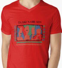 Talking Heads - Yellow 80's Men's V-Neck T-Shirt