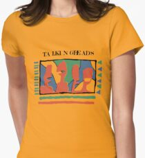 Talking Heads - Gelb 80 & nbsp; s Tailliertes T-Shirt
