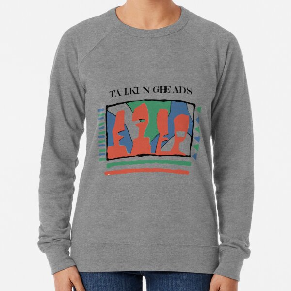 Talking Heads - Yellow 80's Lightweight Sweatshirt