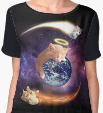 space cats Women's Chiffon Top