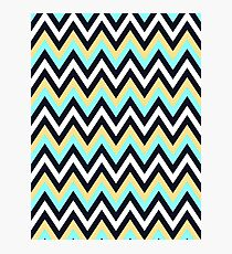 Colorful Chevron Photographic Print