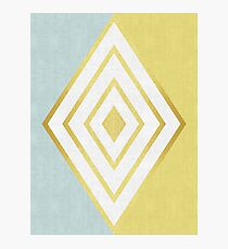 Golden Lozenge Photographic Print