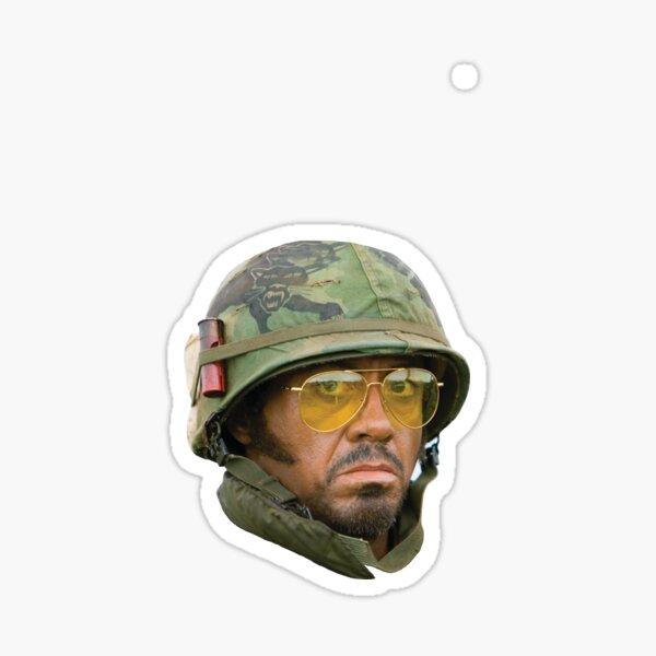 Kirk Lazarus - Head (Tropic Thunder) Sticker
