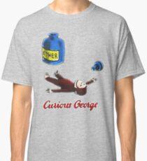 Neugieriger George atmet Äther ein Classic T-Shirt