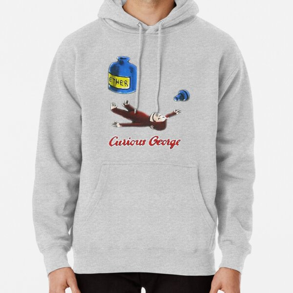 Curious George Breathes in Ether Pullover Hoodie