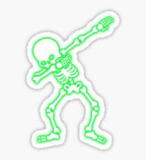 Dabbing skeleton (Dab) Sticker