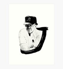 Joe Gibbs Art Print