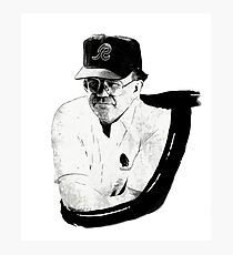 Joe Gibbs Photographic Print