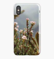 mountain flowers iPhone Case/Skin