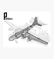 B-29 Schematic: Superfortress Photographic Print