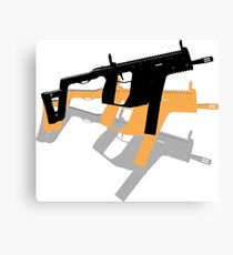 Kriss SMG Andy Warhol Canvas Print