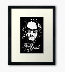 ABIDE DUDE Framed Print