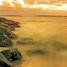 Sunset at Dolls point by sajal maskey